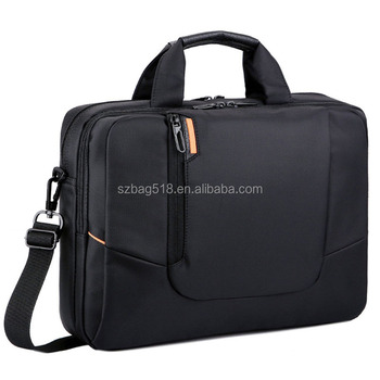wholesale high quality fashion waterproof shoulder sleeve nylon laptop bag