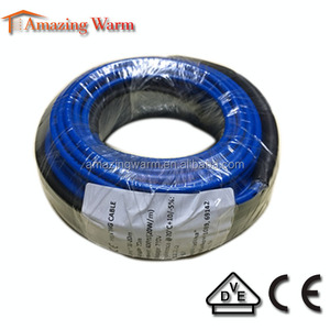 Flexible marble floor heating cable 20w/m heating cable wire