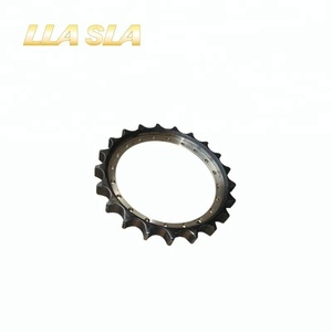 High strength E307 freewheel excavator chain track sprocket