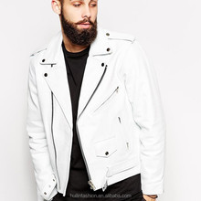 White Leather Jacket Mens, White Leather Jacket Mens Suppliers and ...