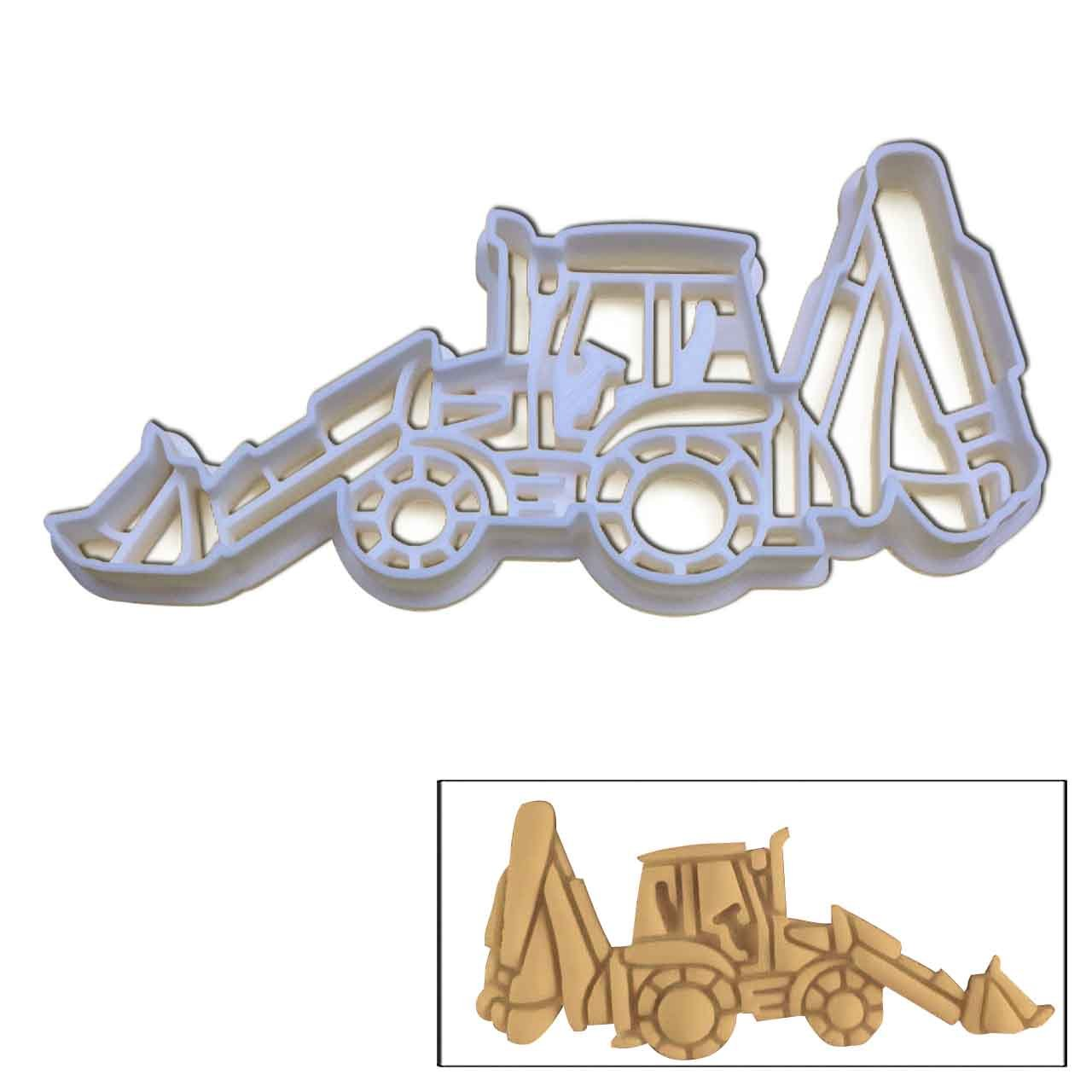 Excavator Digger cookie cutter, 1 pc, Ideal for young truck enthusiasts and construction gurus