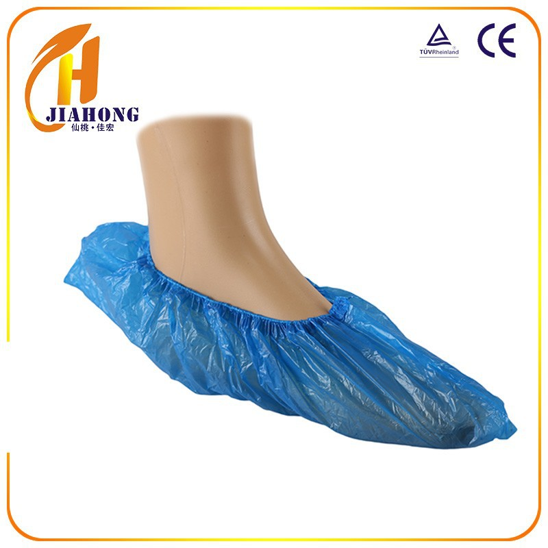 Non-woven plastic Capsule blue kids pe shoe cover