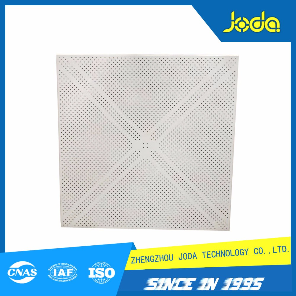 Cheap Wholesale Prices 2X4 600X600 Drop Insulated Perforated Suspended Metal Aluminum Ceiling Tiles