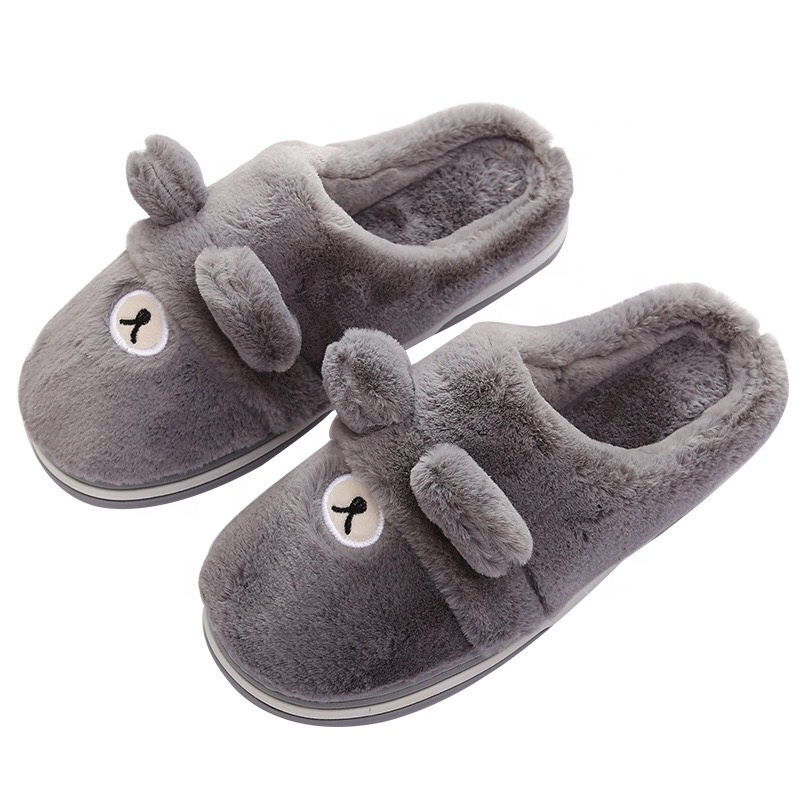 Women's sheep warm plush sole indoor home fuzzy lamb <strong>slippers</strong>