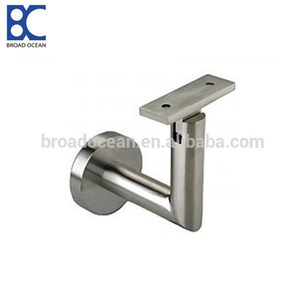 Stainless steel pipe bracket handrail for bus