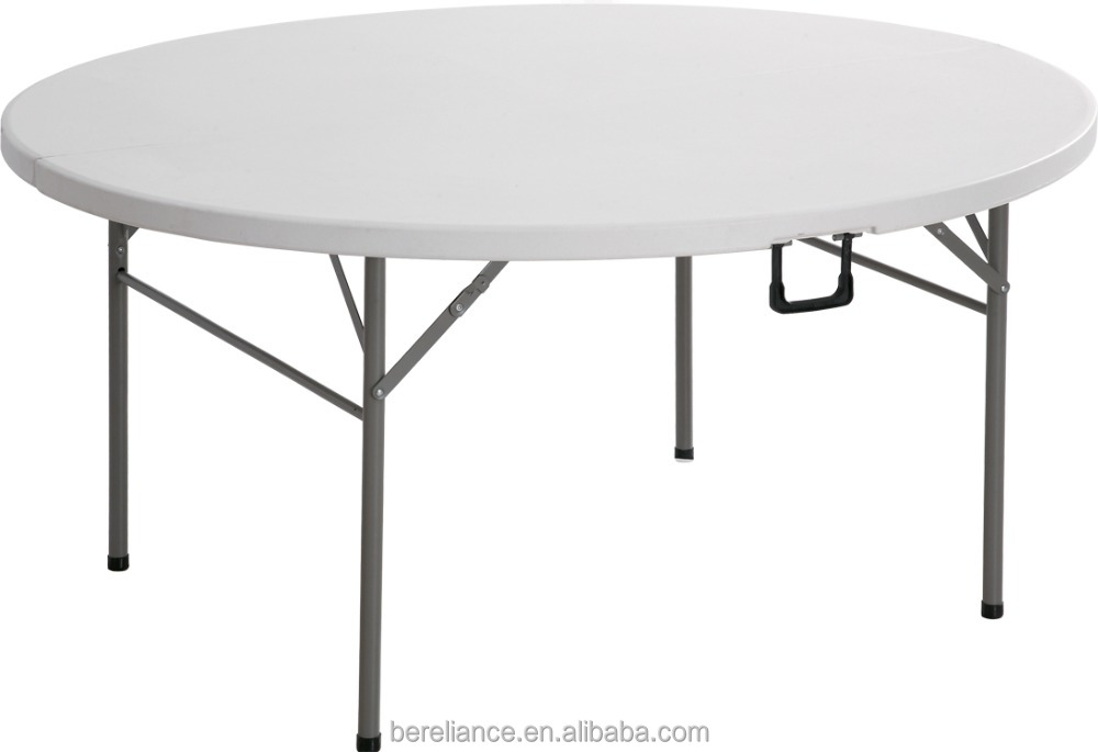 Portable HDPE 6ft Folding Plastic Tables for Outdoor Event