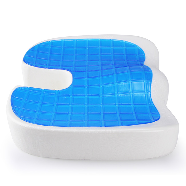 Folding Medical Sciatica Pressure Relief Soft Memory Foam Car Chair Pad Cool Gel Meditation Seat Cushion Buy Cool Gel Seat Cushion Gel Memory Foam