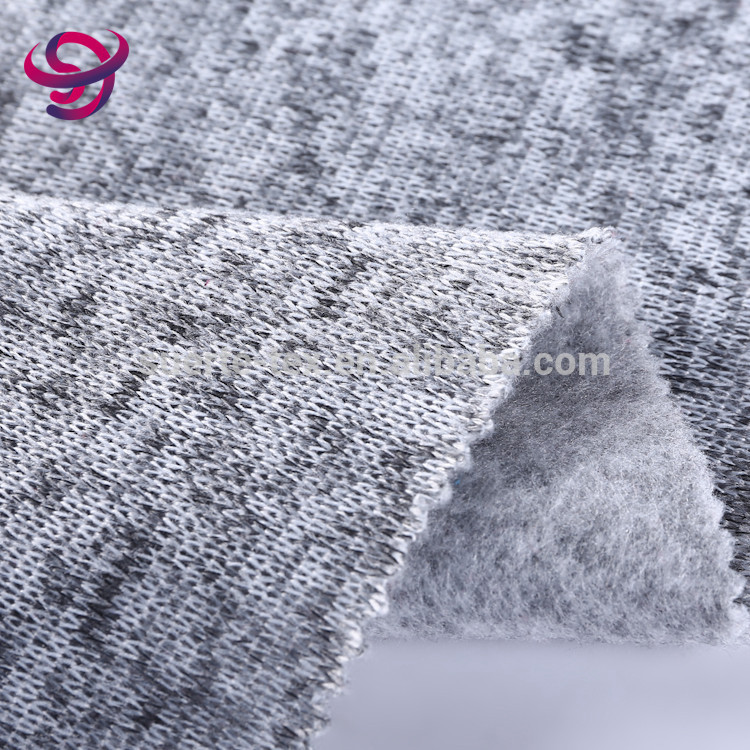 Soft wholesale cheap rib knit 100% polyester stretch fabric rolls