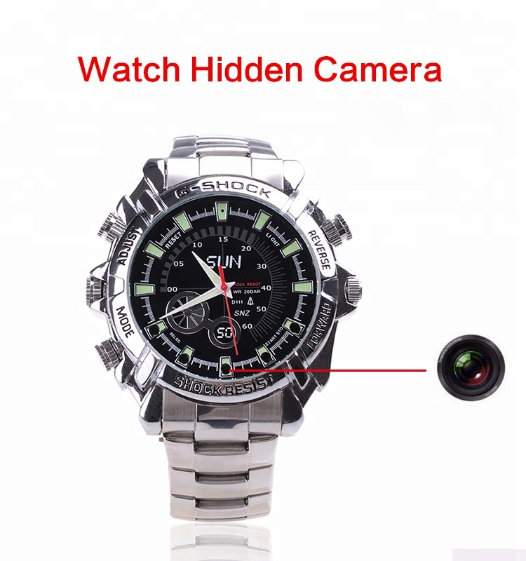 Fashion watch mini dv dvr full HD 1080P Waterproof silicone Watch DVR spy camera digital hidden Camera