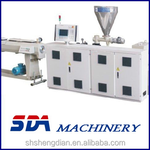 pvc/cpvc/upvc/wpc recycled plastic granulation extruder machine/ pellet making machine price