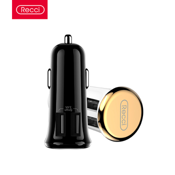 Recci 3.4A Phone Dual Double Port USB Car Charger