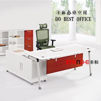 Buy Furniture In China L Shaped Office Desk, Tables With Power Outlets,  Computer