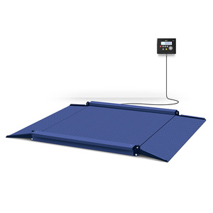 600kg Industrial floor type digital weighing scale with replaceable indicator