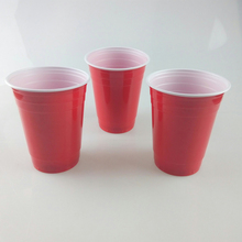 Disposable 16oz party red cups