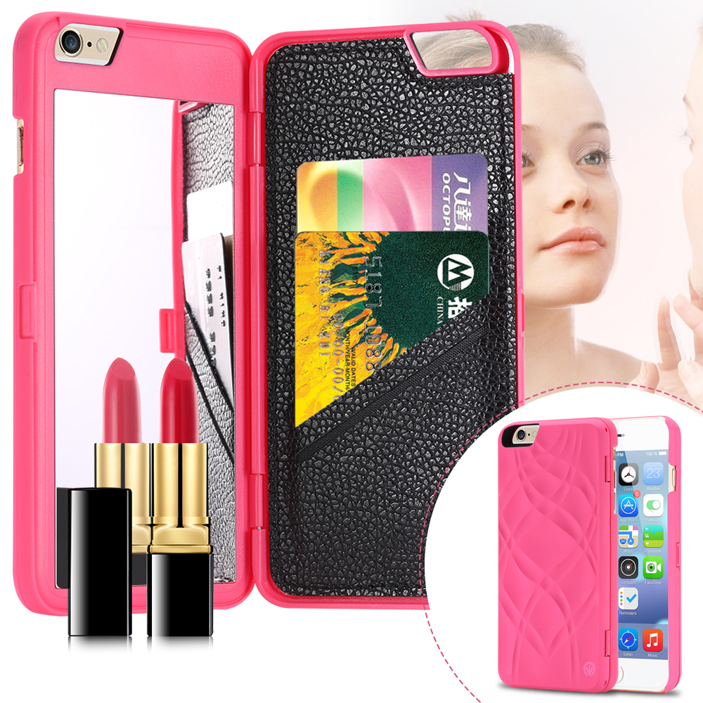 Mirror Wallet Iphone  Plus Case
