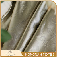 Wholesale modern design embossed home textile curtain fabric design