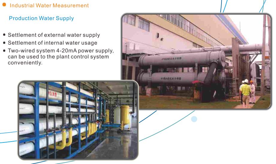 Medidor de flujo de agua ultrasónico modbus de fácil funcionamiento