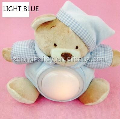 Light Up Teddy Bear Plush Toy/plush Cute Light Bear Nignt Sleep ...