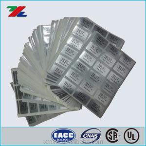 Heavy Duty Battery Label / Custom printed Electronics Heavy Duty label stickers