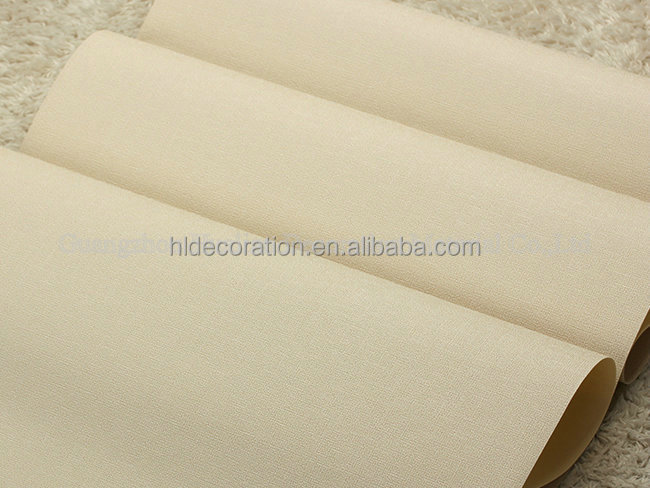 PT310500 plain design simple home decor pvc wallpaper korean style
