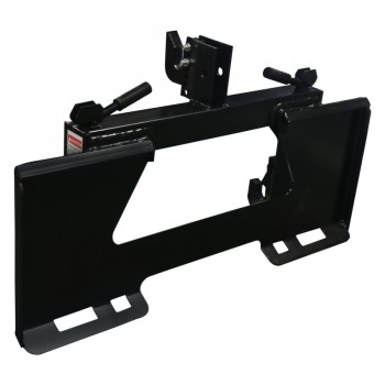 the cat.1 quick hitch adapter for tractor 3point implements and skid steer front loader