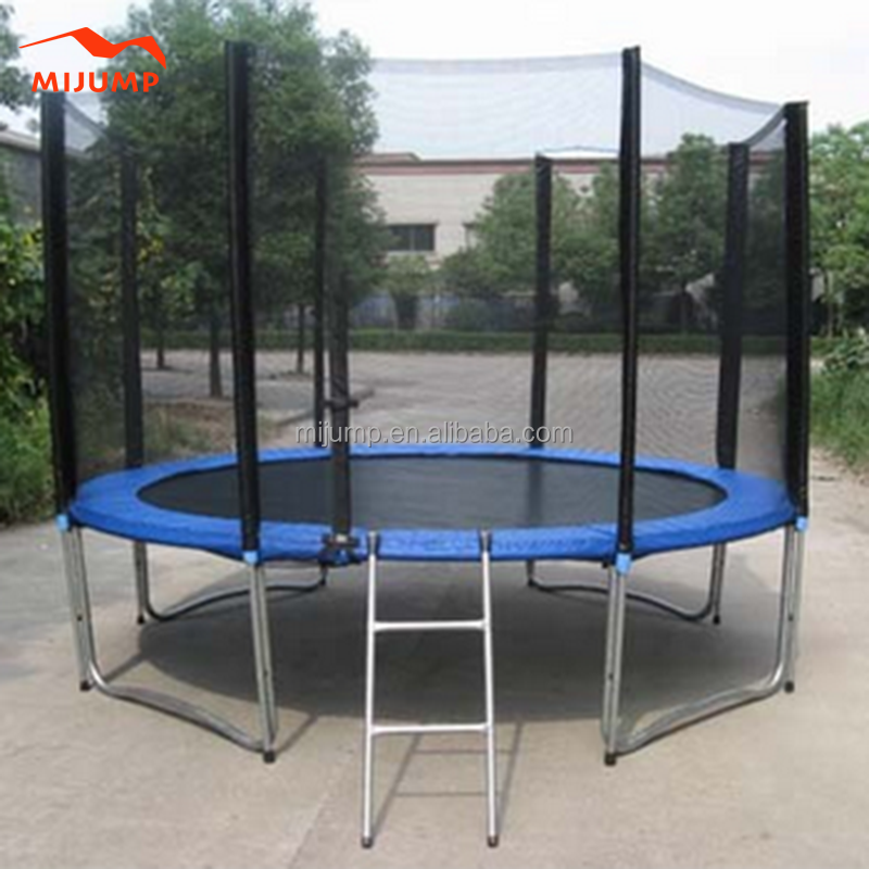 12ft big bounce trampoline with safety net