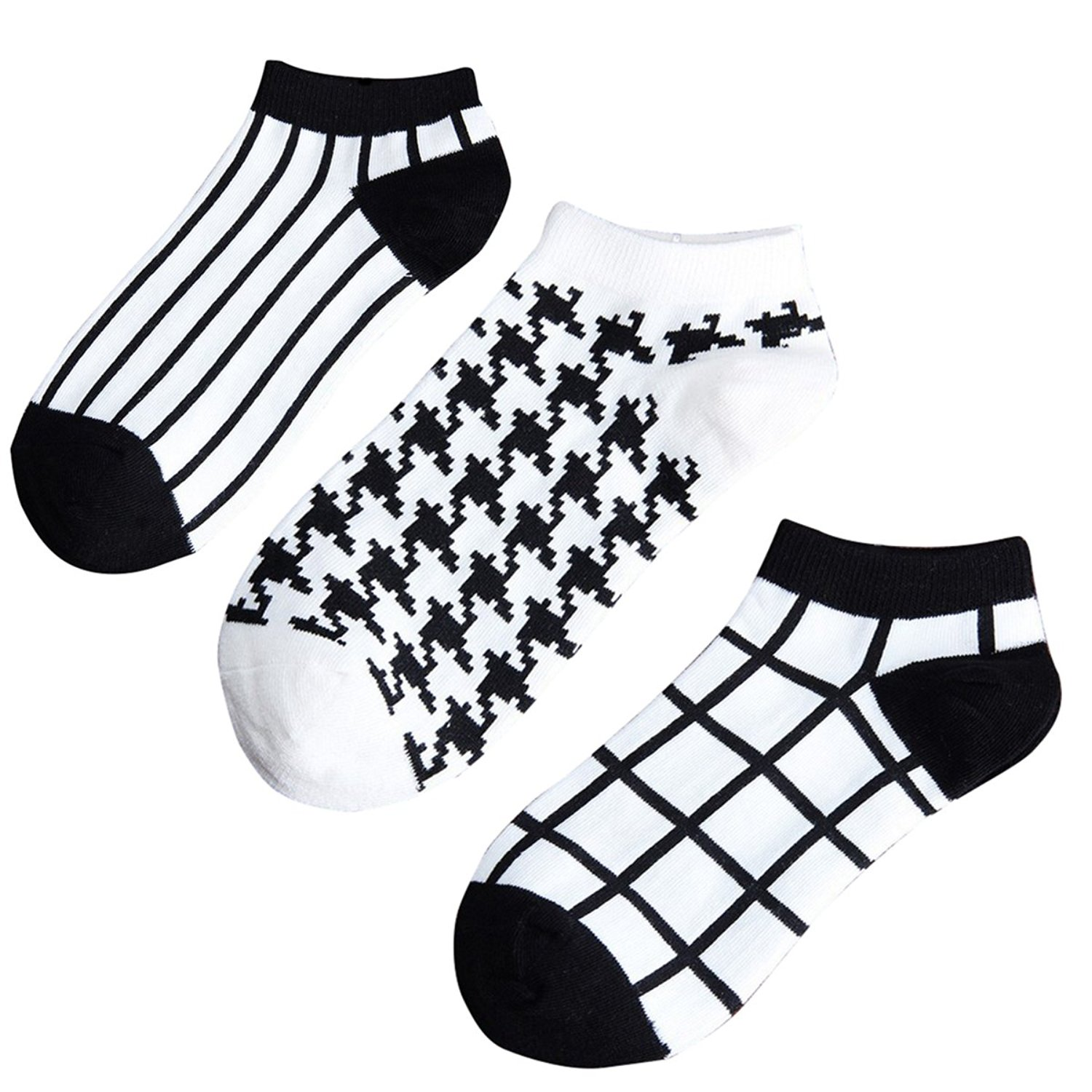 Coco*Store 3Pack Unisex Casual Socks Low Cut Ankle Socks