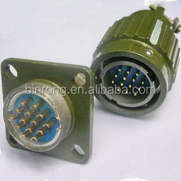 10 broches mâle-Connecteur circulaire de l/'Aviation Y2M 10TK métal