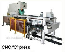 Automatic CNC Deep Throat Punching Equipment for Can Cap
