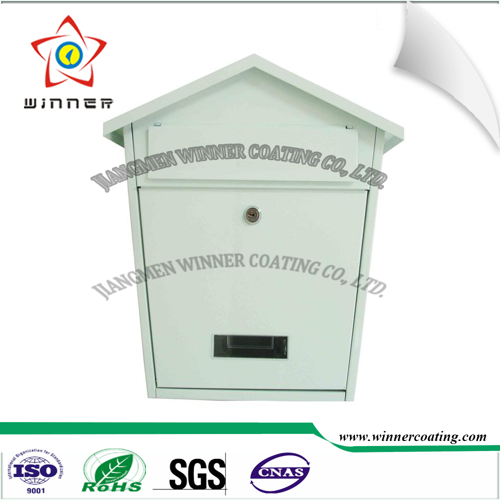 Outdoor Industry stainless steel post mail box powder coating