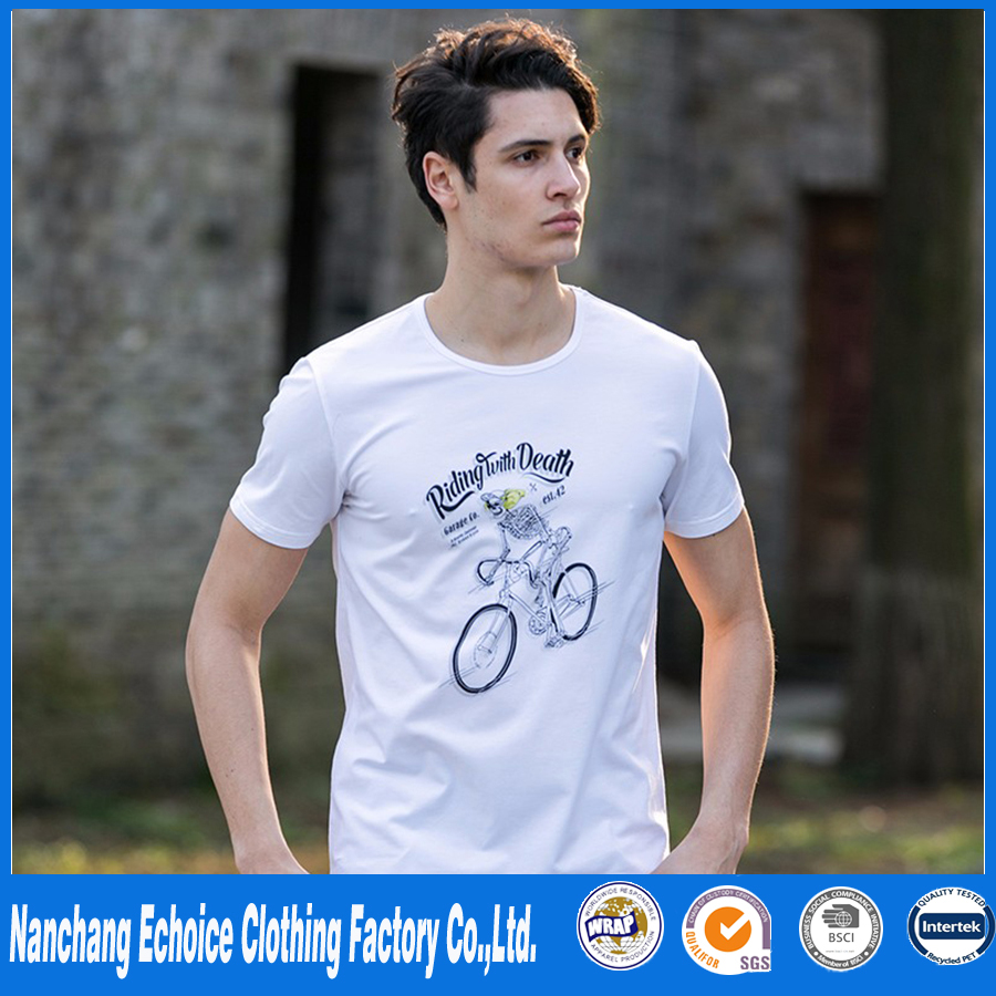 fashion summer mens tshirts very cheap cloth in china casual fitness brand clothing t-shirt men funny T-shirt male top quality