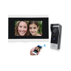 Ethernet Video Intercom connect to CAT5 Network Cable with night vision and smartphone remote control