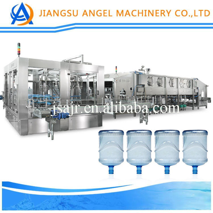 Fast speed hot sale steam and pure mineral water/juice bottle filling machine made in China with good price