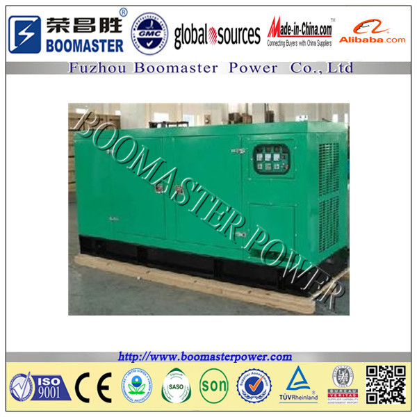trolley trailer diesel generator set weather canopy with wheels Chinese Yuchai Series