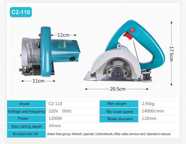 HTB1UOGaboz1gK0jSZLeq6z9kVXaa - 45 Degree adjustable 1200 W Marble Tile Stone Cutter  OEM Servirce Offered
