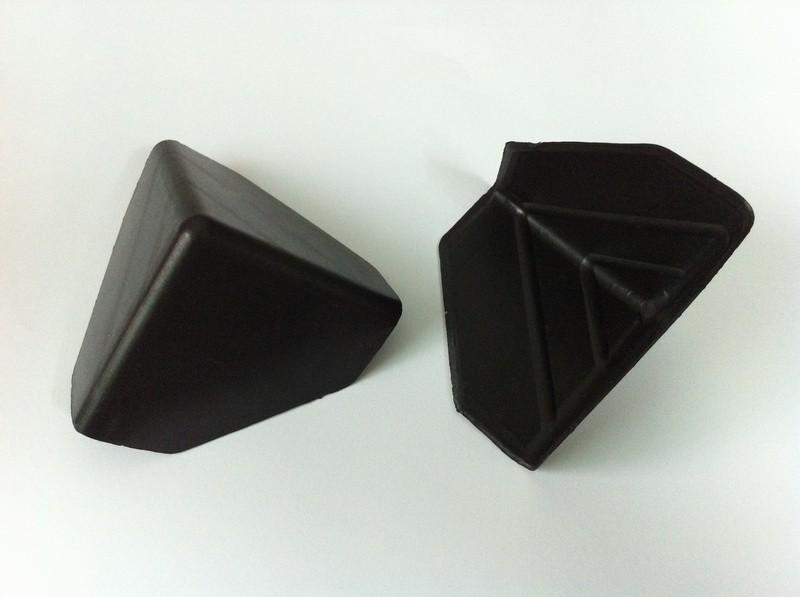 Triangle Three Side Plastic Corner Guard Plastic Edge