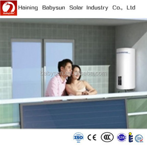 2015 China economic balcony split flat plate solar water heater collector, solar heat panel price
