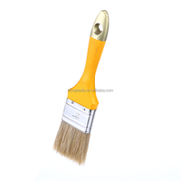 Wholesale best bristles curved hair wall paint brush sets