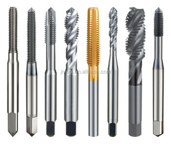 Solid Carbide Metric Spiral Flute Combination Rex Pipe Threading ...