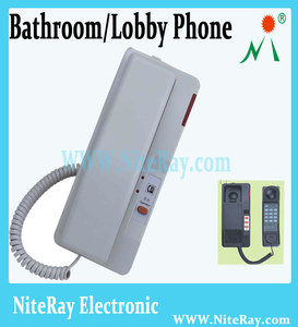 Cute wall mounted phone for home bathroom