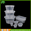Disposable microwave pp food container