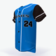 Latest oem custom baseball uniforms wholesale cheap blank sublimated 100% polyester coed softball shirts baseball jerseys
