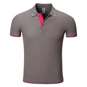 New standard high quality Custom CVC combed cotton Staff Uniform oem t shirt Polo Shirt