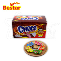 Milk Coco And Strawberry Three Flavors Chocolate Jam Butterfly Shape