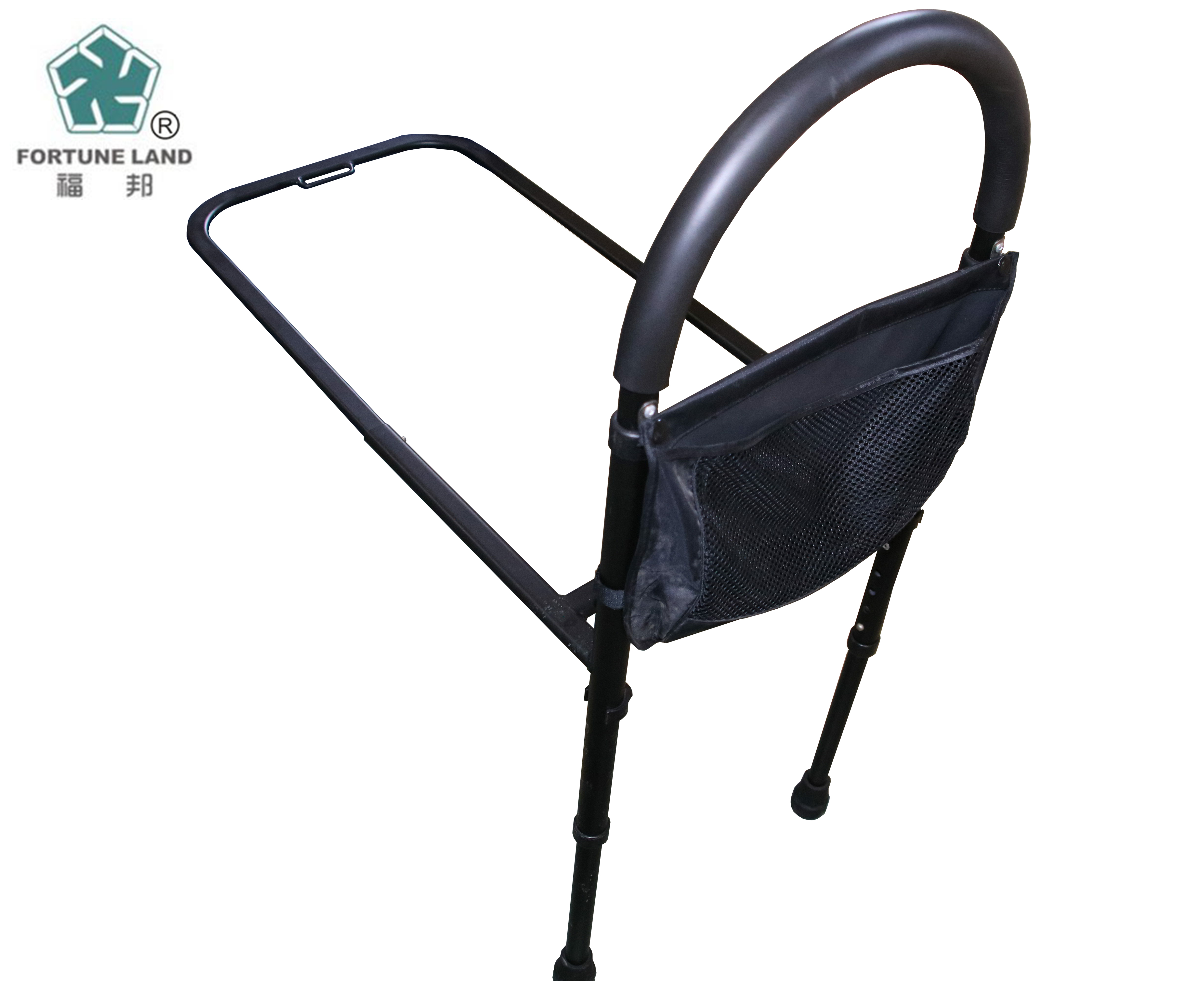 Portable safety bed assist rails