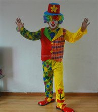 professional joker costume adult costume photos clowns circus costume for carnival JY-ALS07