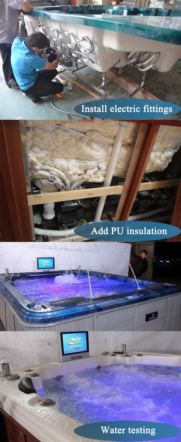 china grounding above indoor mini ground acrylic spa swimming pool swim outdoorspa
