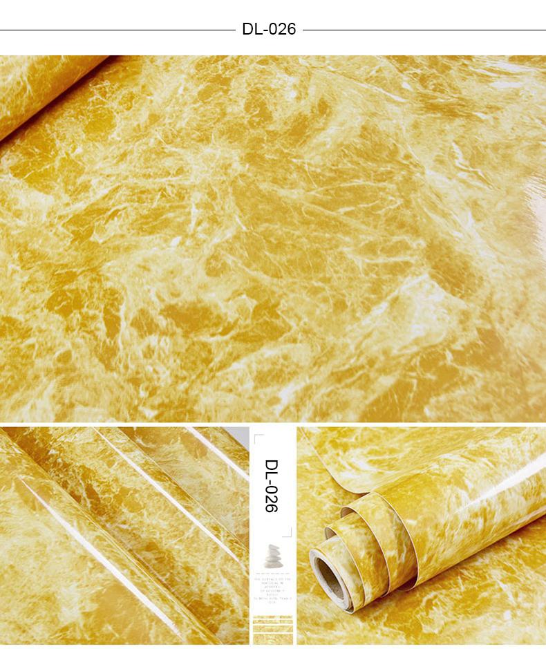 Auto adesivo de mármore vinil papel parede