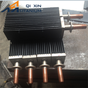 MMO (Mixed Metal Oxide) titanium anode ribbon and flexible anodes
