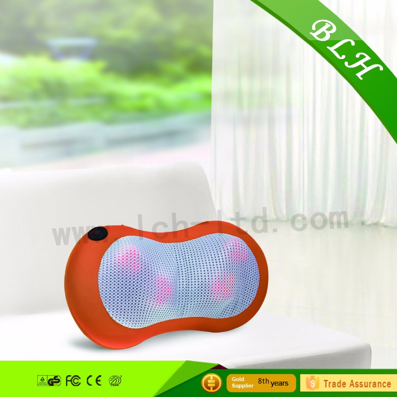 Shiatsu Massage Cushion Infrared Heat and Rotating Massager kneading shoulder massager for car